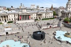 The Be OPEN Sound Portal was created for this year's London Design Festival, and is situated in the middle of Trafalgar Square, one of London's busiest public spaces.