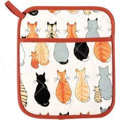Cats in Waiting - Pot Mitt