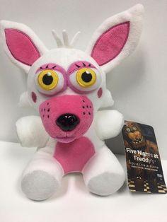 Fnaf Five Nights At Freddys Mangle Funtime Foxy Plush Toy With Tags Five Nights At Freddy's, Funtime Foxy Plush, Freddy Toys, Tweety, Teddy Bear, The Originals, Stuffed Animals, Ebay, Hobbies