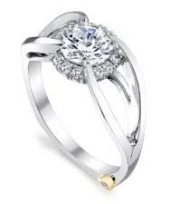 Engagement Ring Photos - Find the perfect engagement ring pictures at WeddingWire. Browse through thousands of photos of engagement rings. Crown Engagement Ring, Engagement Ring Pictures, Round Cut Diamond Rings, Diamond Stone, Jewelry Rings, Fine Jewelry, Jewlery, Contemporary Engagement Rings, Proposal Ring
