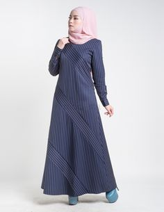 44339aeeeb62a The slim cut silhouette flaunts the body on modest take featuring pinstripe  prints with asymmetrical detailing.