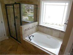 like tile around tub | Good Ideas