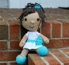 Crochet Doll. Next project for my girls.