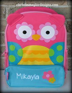 Stephen Joseph Sidekicks Backpack - Owl | Christine Taylor Designs