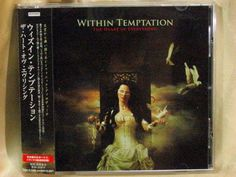 CD/Japan- WITHIN TEMPTATION The Herat Of Everything +3 bonus trx w/OBI RARE 2007 #SymphonicMetalGothicRock