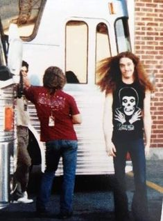 CLIFF BURTON - METALLICA (on the right)
