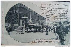 BUCURESTI -  Halele - Piata UNIRII - 1899 Bucharest, Romania, Dan, Memories, History, Country, Vintage, Beautiful, Souvenirs