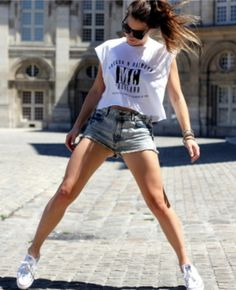 Her legs!