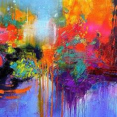 How I love abstract art... This one is my Gerard Stricher … | Flickr