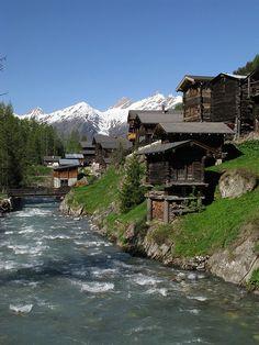 Blatten, Canton of Valais, Switzerland