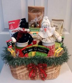 115 Best Christmas Baskets Ideas Images On Pinterest Christmas