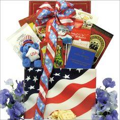 American Pride: Patriotic Gourmet Gift Basket