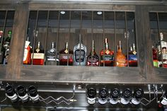 Prichard's products showcased at Below The Radar Brewhouse in Huntsville, TN. Wine Rack, Liquor Cabinet, Cool Pictures, Storage, Fun, Products, Home Decor, Purse Storage, Decoration Home