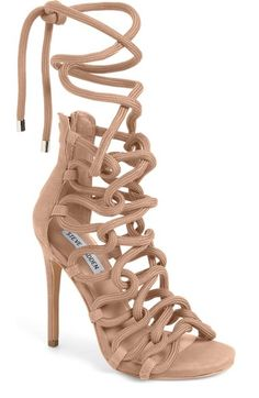 bc11e8a29e29 Steve Madden Dancin Rope Cage Sandal (Women) available at  Nordstrom Caged  Sandals