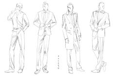Fashion Design Men Sketches Chispidf