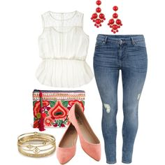 Mexicali Blues - Plus Size >> Loving this outfit, super cute, fun, & colorful!!! Which is unusual for me ;)