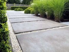 From stamped to stained, discover the top 60 best concrete walkway ideas. Explore front yard and backyard outdoor path designs for your home. Landscaping With Rocks, Modern Landscaping, Outdoor Landscaping, Front Yard Landscaping, Landscaping Ideas, Walkway Ideas, Patio Ideas, Outdoor Ideas, Pavers Ideas