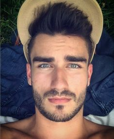 Love a hot man with beautiful eyes Face Men, Male Face, Beautiful Men Faces, Gorgeous Men, Ideal Man, Perfect Man, Hairy Hunks, Handsome Faces, Hommes Sexy