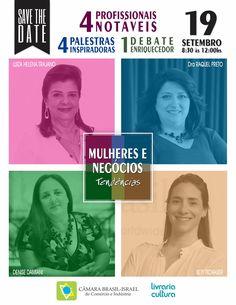 O evento abordará questões relativas a diversidade de gênero e à valorização da…