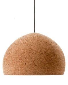 Benjamin Hubert 'Float' cork pendant, $495/small, Great Dane Furniture.