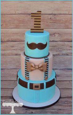 Little Man Cake - CakesDecor