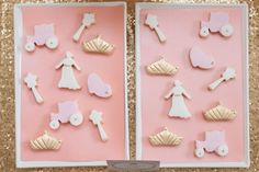 Cookies at a a Pink & Gold Princess Birthday Party via Kara's Party Ideas KarasPartyIdeas.com Printables, cake, decor, tutorials, and more! #princess #princessparty #pinkandgold #goldandpink #partyplannign #partystyling #karaspartyideas (11)