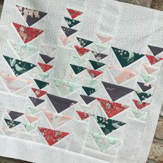 Hello Ollie - Heading South mini by Amanda Castor of Material Girl Quilts