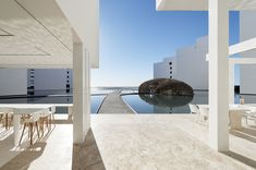An Exquisite Beach Resort on Baja California Sur Lies Where the Water Meets the Horizon - Photo 1 of 12 - Dwell