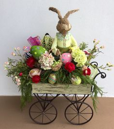 Happy Easter at Arcadia Floral and Home Decor. Designed by Lupita Rodriguez