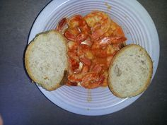 Portuguese  shrimp  I love dishes where you can soak up the sauce with bread. This Portuguese shrimp dish is one of those. I hope you enjoy it.