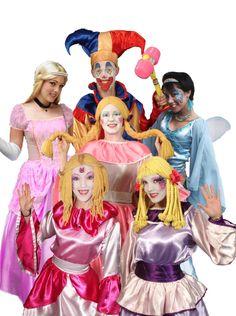 Miles of Smiles Entertainment Kids Party Decorations, Princess Zelda, Disney Princess, Clowns, Charity, Disney Characters, Fictional Characters, Aurora Sleeping Beauty, Entertainment