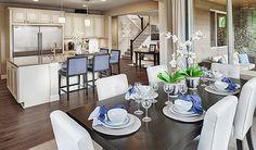 D R Horton Destin Model Home Decorating Staging Model
