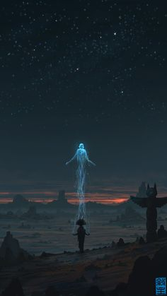 Soul Ascending by JoshHutchinson on deviantART (It's very similar to one of my dreams, which I drawed)