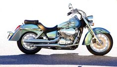 Honda Shadow 750 Aero. Please and thank you!