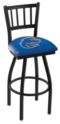 Boise State Broncos Bar Stool with Swivel Seat