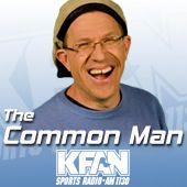 The Common Man spends three hours a day talking about the lighter side of sports and infuses humor in everyday life.
