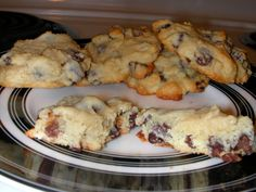 Cream Cheese Chocolate Chip Cookies.  Amazing!!