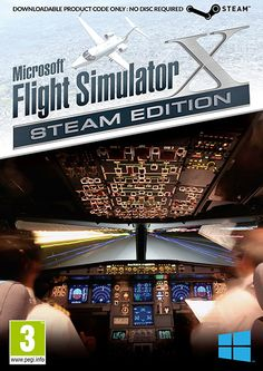 Take the controls of aircraft such as the 747 jumbo jet, F/A-18 Hornet, P-51D Mustang, E H-101 helicopter and others and explore a world of aviation. Publisher: Dovetail Developer: Microsoft Game Studios Platform: PC Genre: Simulation Release Date: 01/05/2015 #videogames #simulation #PC