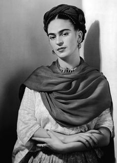 Born on the 6th of July: Frida Kahlo (1907 - 1954), vibrant Mexican painter and activist…  Photo, Nickolas Muray, 1941 - via George Eastman House