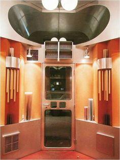 Hans hollein candle shop interior
