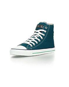 Ethletic Sneaker vegan HiCut - Farbe coral blue / white aus Bio-Baumwolle - http://on-line-kaufen.de/ethletic/ethletic-sneaker-vegan-hicut-farbe-coral-blue-aus