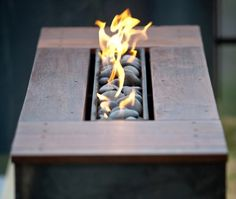 Fire Bench portable propane fire pit