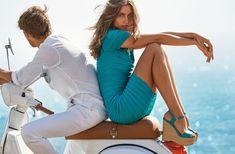 Clad in bodycon dress, Andreea Diaconu fronts MICHAEL Michael Kors spring-summer 2018 campaign