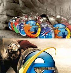 300 спартанцев и IE