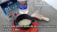 La Recette Ultra Facile de la Lessive Maison Prête en 2 Min.