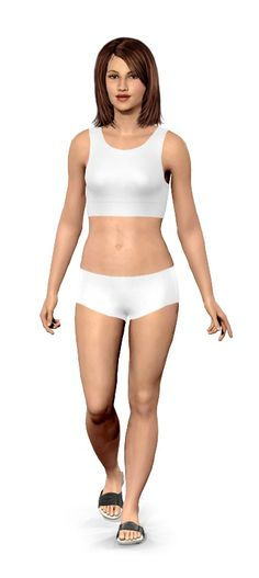 My Model. Weight loss simulator. From 160lbs to 120lbs.