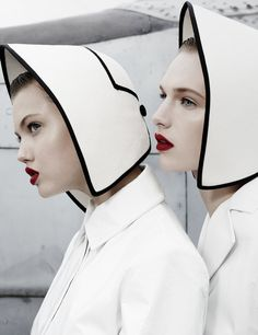 Lindsey Wixson & Ashleigh Good by Emma Summerton for W Magazine November 2013  Giovanna Battaglia, Emma Summerton
