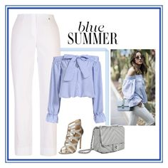 """""""Blue Summer!"""" by lollahs ❤ liked on Polyvore featuring Chesca, Zara and New Look"""