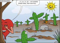 Wir sollten öfter spielen! Grinch, Playing Games, Cactus, World