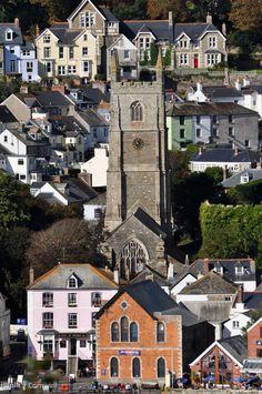 Fowey Church, Cornwall